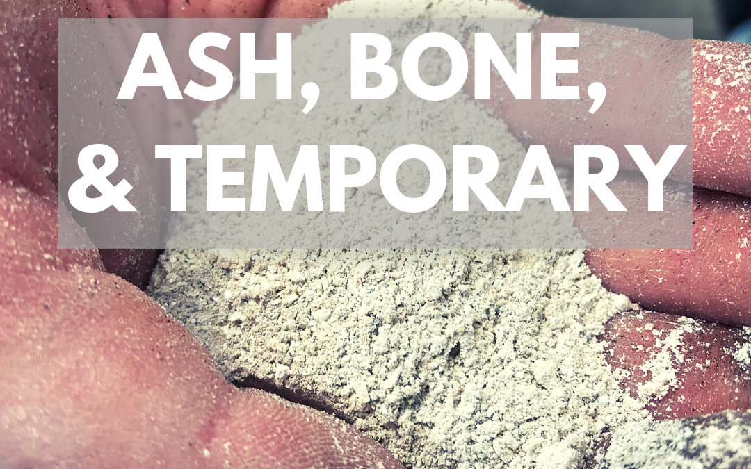 Ash, Bone, & Temporary (5 min read)