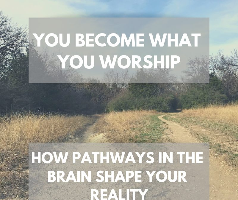 You Become What You Worship: How Habitual Pathways in the Brain Shape Your Reality